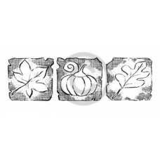 Signs of Fall Cling Stamp