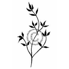 Small Branch Cling Stamp