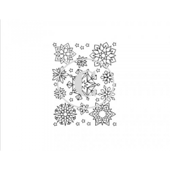 Snowflakes, Art Acetate Background