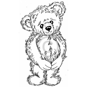 Teddy Cling Stamp
