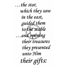 The Star Cling Stamp