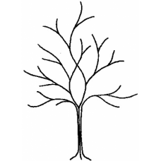 Theme Tree Cling Stamp