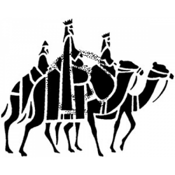 Three Kings Cling Stamp