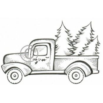 Tree Delivery Cling Stamp