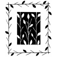 Twigs & Frame Cling Stamp