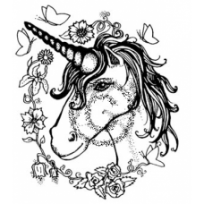 Unicorn Cling Stamp