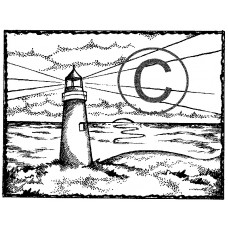 The Lighthouse Cling Stamp