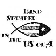 Hand Stamped USA Unmounted Stamp