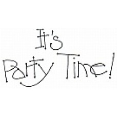 Party Time Digital Stamp