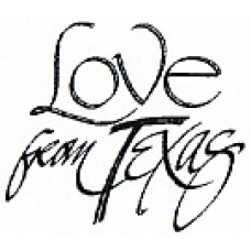 Love From Texas Digital Stamp