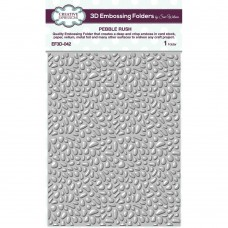Embossing Folder, 3D Pebble Rush 649004
