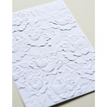 Embossing Folder, 3D Blooming EF1014
