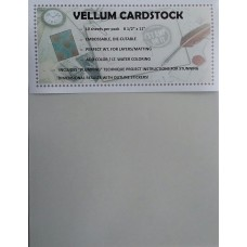 Vellum, Cardstock Weight