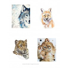 Animals of the Wild 2 Vintage Hues Acetate
