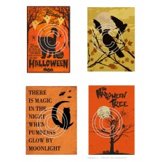 Halloween 3 Vintage Hues Art Acetate