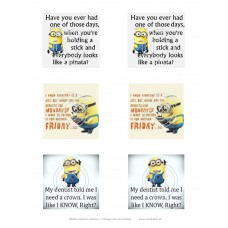 Minion Opinions Squares 2 Vintage Hue Acetate