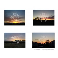 Sunrise - Sunset Vintage Hues Art Acetate